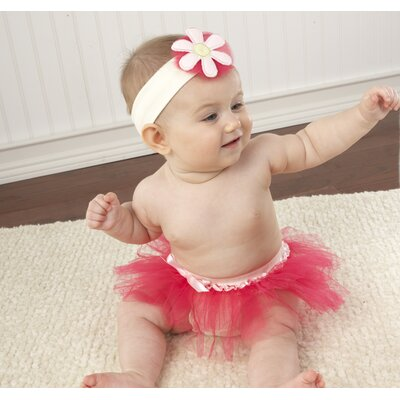Baby Aspen Closet Monsters Bloomers, Headband and Plush Toy Gift Set