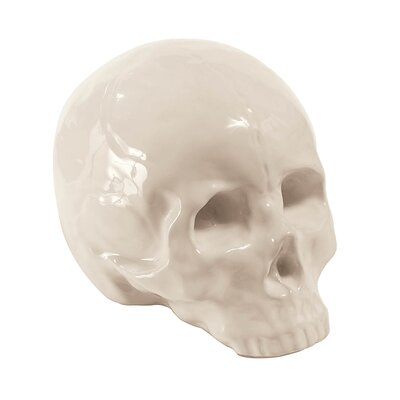 Memorabilia Porcelain My Skull Figurine
