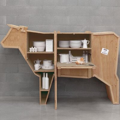 Sending Animals Cow Cabinet