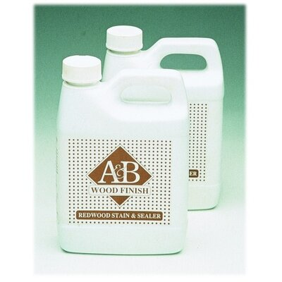 A&B Accessories 1 Quart Wood Finish