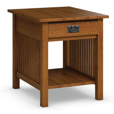 Mission Hills End Table With Drawer