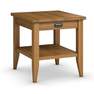 Caravel Downtown End Table with Drawer