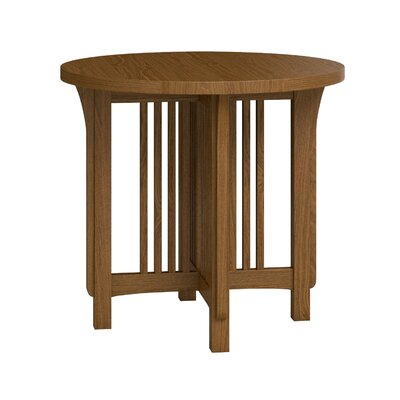FLW Round Lamp Table