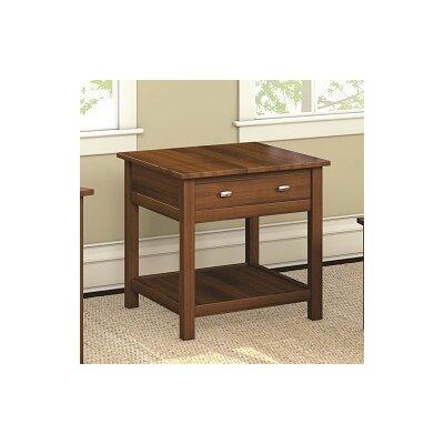 Caravel Carabus End Table With Drawer