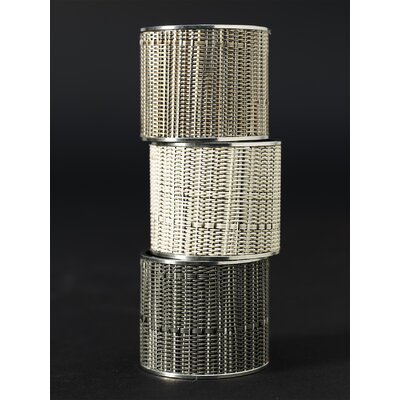 Chilewich Bamboo Stainless Napkin Ring