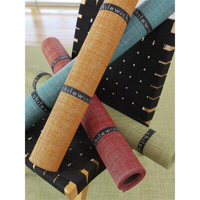 Chilewich Mini Basketweave Dill Floor Mat