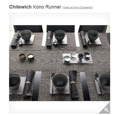 Chilewich Kono Runner