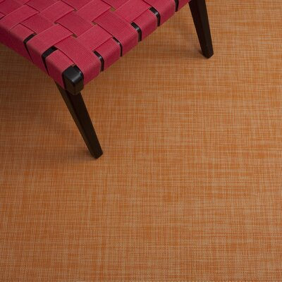 Chilewich Mini Basketweave Clementine Rug