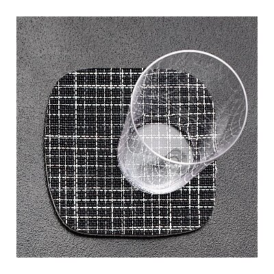 Chilewich Mini Basketweave Retro Coaster (Set of 4)