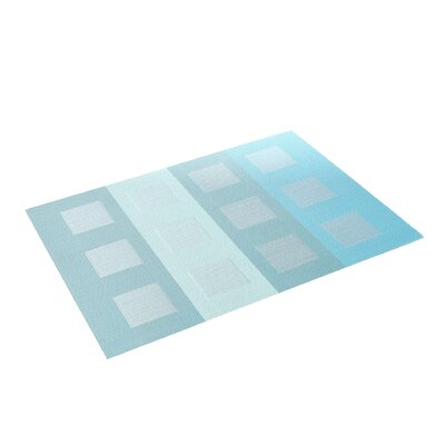 Chilewich Rectangle Engineered Squares Placemat