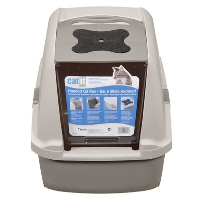 Catit by Hagen Catit Hooded Cat Litter Pan