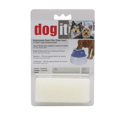 Dogit by Hagen Dogit Fresh and Clear Replacement Foam Insert