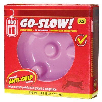 Dogit by Hagen Dogit Go Slow Anti-Gulping Dog Bowl