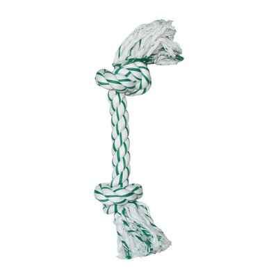 Dogit by Hagen Dogit Mint Knotted Rope Bone Dog Toy