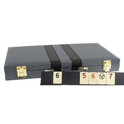 "Classic Game Collection 15"" Rummy Attache Case"