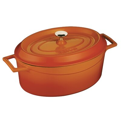 Cast Iron Oval Dutch Oven with Lid