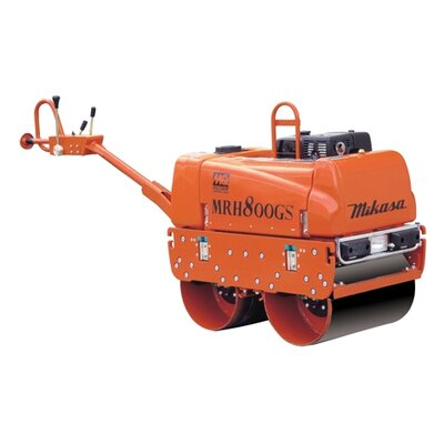 "Multiquip 27.2"" Honda GX - 390 Walk Behind Vibratory Double Drum Roller"