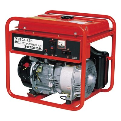 6,000 Watt Honda Portable Gasoline Generator with Recoil Start - GA25H