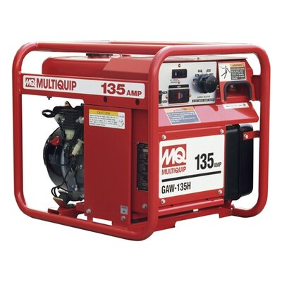 1,500 Watt Honda GX200 135A DC Welder / 1.5 KW Generator with Recoil Start - ...