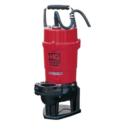 Multiquip 79 GPM Submersible Trash Pumps with Single Phase Motor