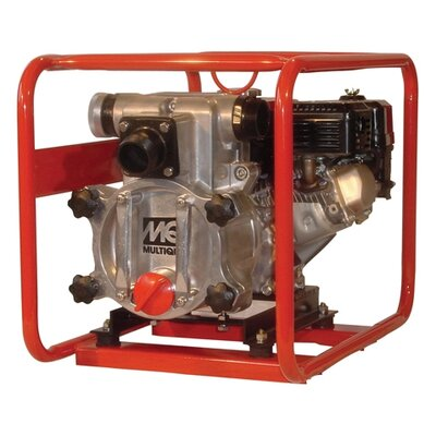 Multiquip 211 GPM Honda GX - 160 Trash Pump