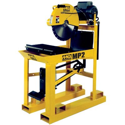 Multiquip MasonPro 2 19.5 Amp 5 HP 230 V 3 Phase Electric Masonry Table Saw