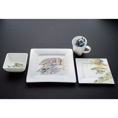 Snapper Dinnerware Set