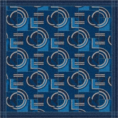 Milliken Pastiche Modernes Phantom Blue Rug