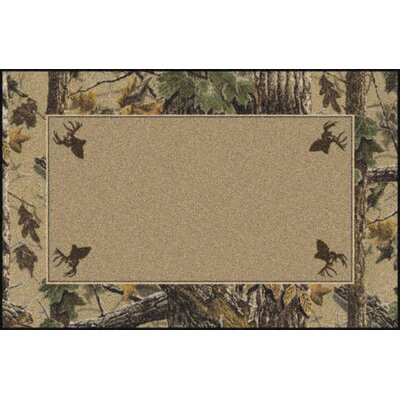 Milliken Realtree X-tra Solid Center Novelty Rug