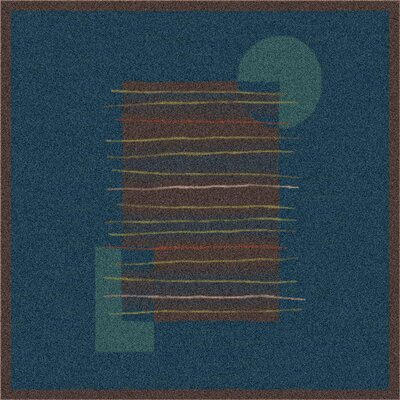 Pastiche Horizon Blue/Dark Brown Rug