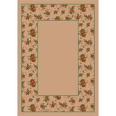 Design Center Cameo Rose Pearl Rug