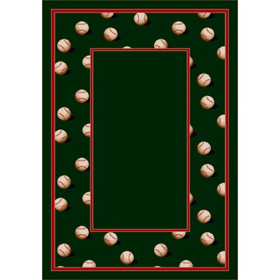Milliken Design Center Slider Olive Novelty Rug