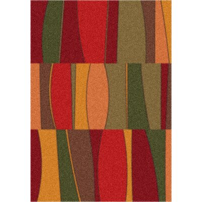 Modern Times Sinclair Tapestry Red Rug