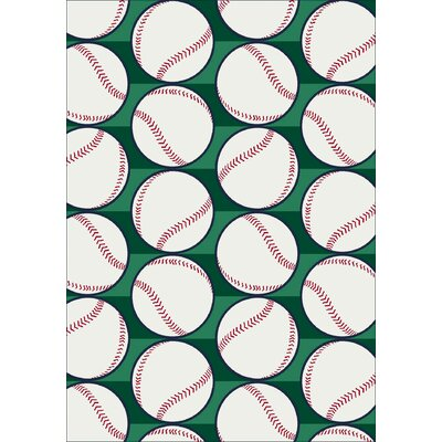 Milliken My Team Sport Swing Batter Novelty Rug