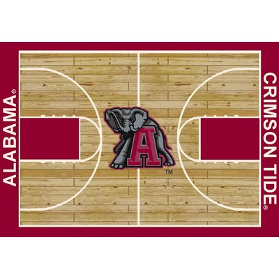 Milliken NCAA Court Novelty Rug