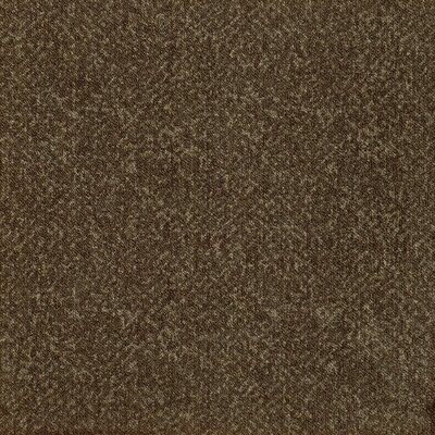 "Milliken Legato Fuse Texture 19.7"" x 19.7"" Carpet Tile in Java Brown"