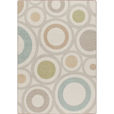 Milliken Mix and Mingle Cream in Focus Rug