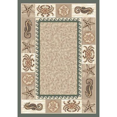 Milliken Signature Sea Life Light Aqua Rug