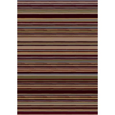 Milliken Innovation Lola Dark Chocolate Striped Rug