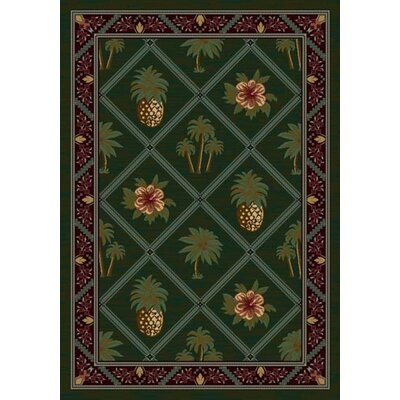 Milliken Signature Palm and Pineapple Novelty Rug