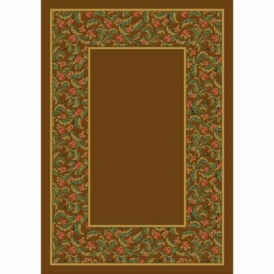 Design Center Latin Rose Nutmeg Rug