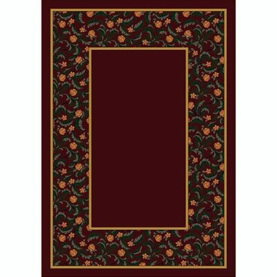 Design Center Latin Rose Garnet Rug