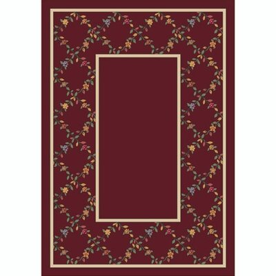 Milliken Design Center Maiden Garnet Rug
