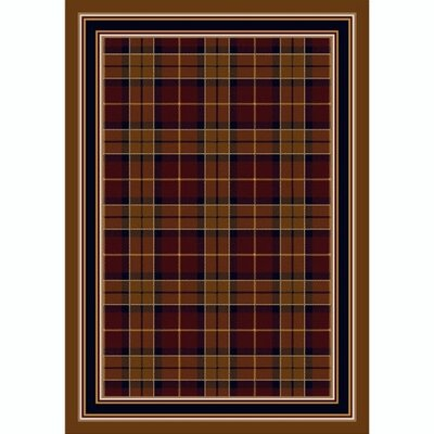 Milliken Design Center Magee Plaid Garnett Rug