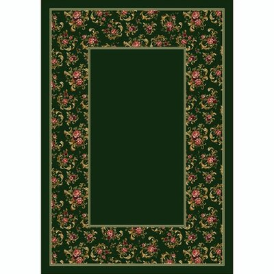 Milliken Design Center Cameo Rose Olive Rug