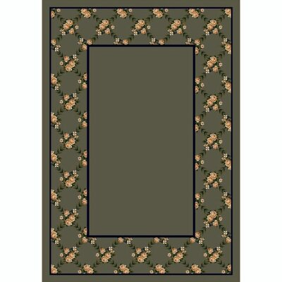 Design Center Rose Bower Sage Rug