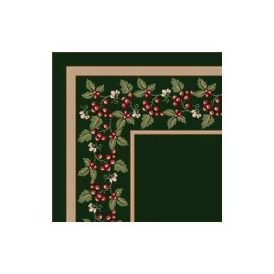 Milliken Design Center Wildberry Olive Rug