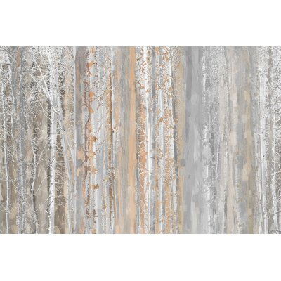 Aspen Forest Painting Prints on Canvas