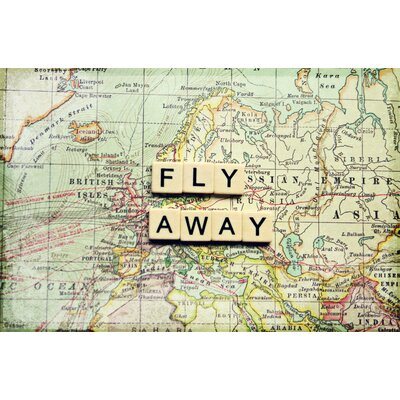 Fly Away Painting Prints on Canvas