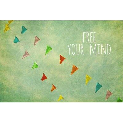Free Your Mind Painting Prints on Canvas